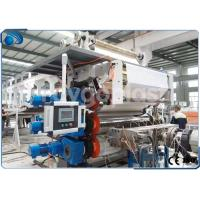 Single Screw Plastic Sheet Extrusion Machine Manufacturing Equipment High Capacity Manufactures