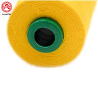 High Tenacity Dyed 100% Spun Polyester Sewing Thread 40 S / 2 5000 Yarns Manufactures