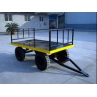 China Strong Electric Platform Truck 3 Ton Loading Capacity 10# channel steel Material on sale