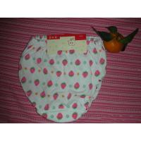 OEM Polyester / Cotton Breathable  Printed Strawberry Organic Girls Underwear Manufactures