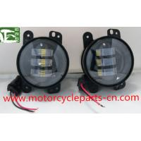 Jeep Wrangler Off Road Fog Light Auto Parts Accessories 4 Inch 30W 12V Fog Lamp Manufactures