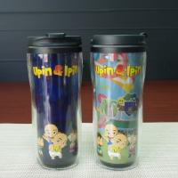 Plastic Double Wall Tumbler Cup Personalised Childrens Mugs SGS Manufactures