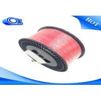G652D Bare Indoor Fiber Optic Cable Low Insertion Loss With PVC / LSZH Jacket Manufactures