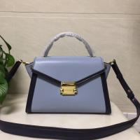 Michael Kors Whitney Blue Leather Ladies Bat Ear Bags Shoulder women's handbag Manufactures