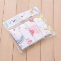 Soft Pure Cotton Handkerchiefs Anti Bacterial Muslin Bamboo Easy Wash / Dry Manufactures