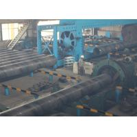 ASTM A252 ERW Sawh Steel Pipe , Spiral Welded Tube With Iron Protector Manufactures