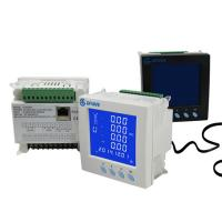 Modbus Digital Stop Ethernet Power Meter Data Logger Three Phase 0.5S Accuracy Manufactures