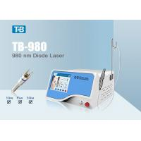 Quality 20W 980 nm Diode Laser Spider Vein Removal Machine For Hospital for sale