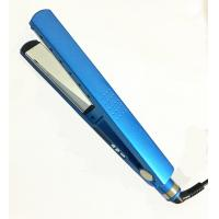 Hot sale Dual Voltage Nano Titanium Tourmaline Ionic Brazilian Flat Iron Hair Straightener Manufactures