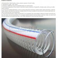 manufacture transparent pvc steel wire spiral reinforced water hose,coveying water, oil and powder in the factories, agr Manufactures