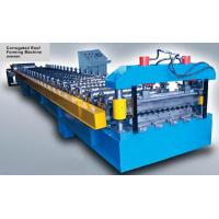 16 Stations Corrugated Metal Roof Sheet Roll Forming Machine With CE Certification Manufactures