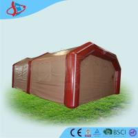 China Red Bubble Medical Inflatable Tailgate Tent Attractive PVC / Oxford Cloth on sale