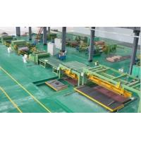 China High Speed Rotary Shear Cut To Length Line Steel Roll Forming Machine on sale