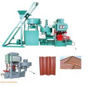 concrete  tile making machine GLCT-128 Manufactures