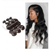 China Body Wave Bundles For One Women Head Malaysian Hair Extensions No Shedding on sale