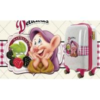 PC ABS children luggage with wheels cute printing cartoon little old man Manufactures