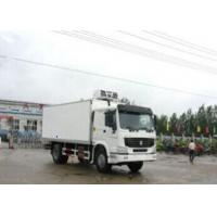 6 Wheels Small Refrigerated Truck, 4X2 110 Hp Food Transport Freezer Delivery Truck Manufactures