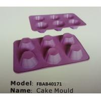 FBAB40171 for wholesales various shapes silicone cupcake tray mold Manufactures