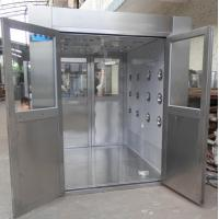 IOS 5 Stainless Steel Clean Room Air Shower Tunnel Equipment With Vertical Blowing Manufactures