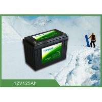 12V 125Ah LiFePO4 Bluetooth RV Battery With Charging / Discharging Availability Manufactures