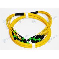 Buy cheap Male Type MPO MTP Patch Cord , 72 Cores MPO Fiber Jumper Singlemode IEC Standard from wholesalers