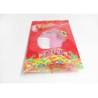 China Heat Sealable Flat Bottom Stand Up Plastic Bags For Food Packaging , Snack pouches on sale