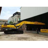 China Yellow Cat Long Reach , Excavator Boom Arm Sumitomo SH380 With 1.2 Cum Sand Bucket on sale