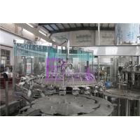 Automatic Tiny Negative Pressure Soy Sauce Bottle Filling Plant For Long Neck for sale