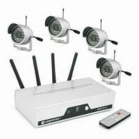 Clear Picture Display Wireless CCTV Cameras with 380TVL Horizontal Resolution and Hidden Receiver Manufactures