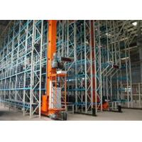 Save Labor Automated Stacker Crane PLC Controlled Warehouse ASRS System Manufactures