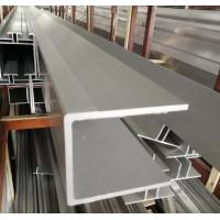 China U Channel Aluminium Extrusion Profiles 6063 T5 Aluminum Alloy With Precision Cutting on sale