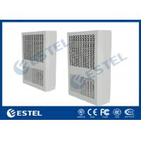 Low Noise Cabinet Heat Exchanger 48VDC 80W/K High Reliability Embeded Mounting Method Manufactures