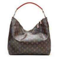 2012 Collections LV Monogram Handbags with Oxidizing Leather Handle Canvas Sully MM M40587 Manufactures