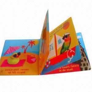 PVC bath book for children