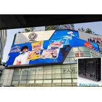 Outdoor Fixed Billboard LED Display Screen Panel Led Tvs Wall P8 P10 For Advertising Manufactures