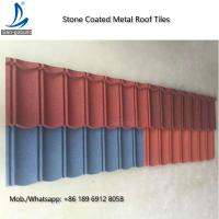 Metal Roofing Sheets Stone Coated Terracotta Red Coating