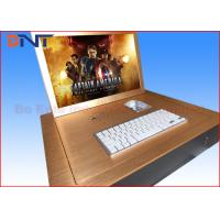"""Gold Color 19"""" Computer Monitor Lift  , Flip Up LCD Lift With Infrared Sensor Manufactures"""