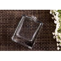 Rectangular Glass Perfume Bottles made by High white lead free glass , Glass Spray Pump Bottle Manufactures