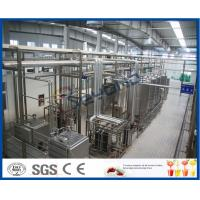 Energy Saving 2000-10000LPH  continuous  Ice Cream Machine  ISO9001 / CE / SGS Manufactures