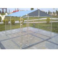 Quality 4' x 6' x 6' /1.2m x 1.8m x 1.8 m outdoor chain link wire dog kennel DIY for sale