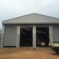 Pre-Fabricated Mechanical Steel Building with SGS Certificate Manufactures