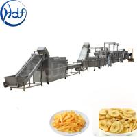 500kg / H Capacity Banana Chips Making Machine , Continuous Crisps Making Machine Manufactures