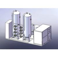 Skid Mounted Cryogenic Nitrogen Plant , Industrial Liquid Nitrogen Generator Manufactures