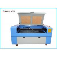 1610 100W Double Head MDF PlywoodFabric LaserCuttingMachineWith Auto Focus System Manufactures