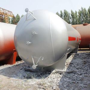 China factory supply 20m3 lpg storage tank lpg pressure vessel Manufactures