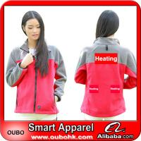 Quality Cheaper women's coat With Automatic Battery Heating System Electric Heating Clothing Warm OUBOHK for sale