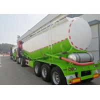 Cement Tanker Trailer For Sale V Type With Engine