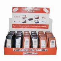 Plastic Folding Reading Glasses with Matching Case Manufactures