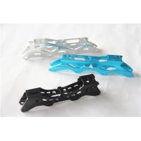 Customized colorful Aluminium alloy extrusion parts for ice skates blade support Manufactures