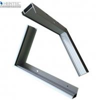 Customerized Powder Spray Coated Frames For Solar Panels / 6063 / 6061 / 6060 Manufactures